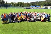 Ve Vilémově proběhlo tradiční setkání fotbalových veteránů.