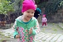 Andulka Violová z Děčína, trpící zákeřnou rakovinou.