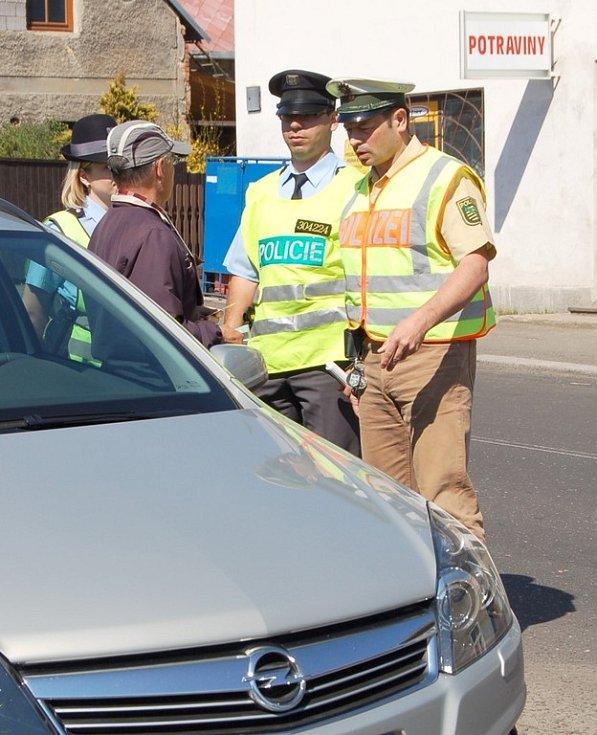 I Šluknov patří mezi obvodní oddělení policie, která spolupracují s policií německou.