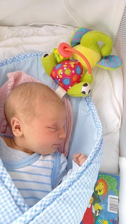Kristýna Havlová  se narodila Adéle a Michalu Havlovým z Děčína 14. ledna v 15.43 hodin. Měřila 50 cm a vážil 3,4 kg.