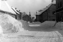 Verneřice - zima 1967