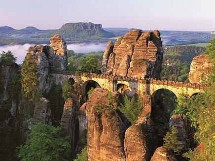 Skalní most Bastei.
