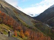 Podzimní Patagonie je půvabná.