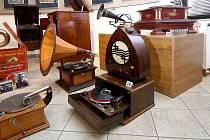 Gramofony. Ilustrační foto.