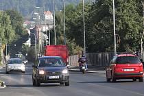 Opravená Dělnická ulice v Děčíně.