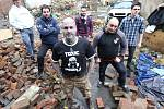 Natáčení nového klipu kapely Toxic People.