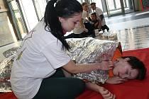 Zdravotníci soutěžili v Centru Pivovar.
