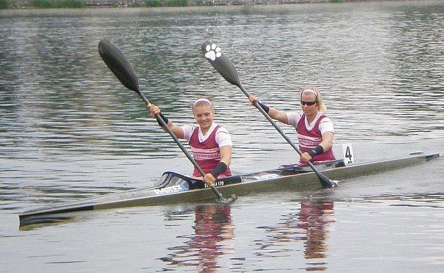 Andrea Rothmeierová a Lenka Kučerová.