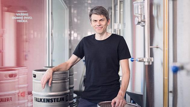 Spolumajitel pivovaru Falkenštejn v Krásné Lípě Jan Srb.