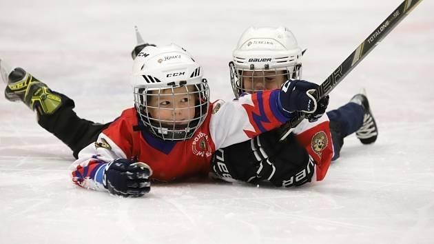 Na děčínském zimním stadionu proběhla akce Týden hokeje.