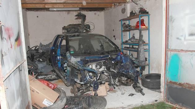 Policie provedla na Šluknovsku zátah na zloděje aut.