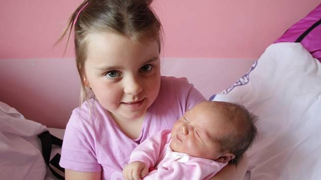 Pavlíně Vorlové z Markvartic se 26. května ve 3.51 v děčínské porodnici narodila dcera Elenka Vorlová. Měřila 50 cm a vážila 3,95 kg.