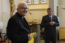 Litoměřický biskup Jan Baxant má svou hvězdu. Postaral se o to Schrödingerův institut ze Šluknovského výběžku.