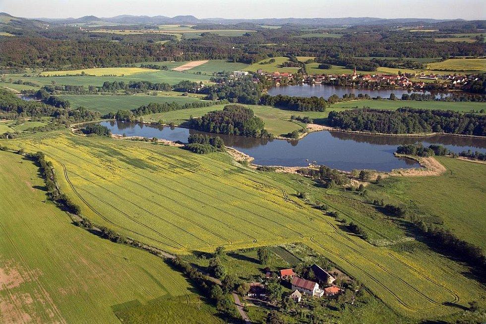 Holanské rybníky.