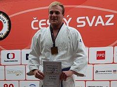 JAKUB JOHN vyhrál Český pohár v judu.