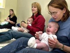 V Ústeckém kraji nyní převažuje počet úmrtí nad počtem narození dětí. Ilustrační foto.