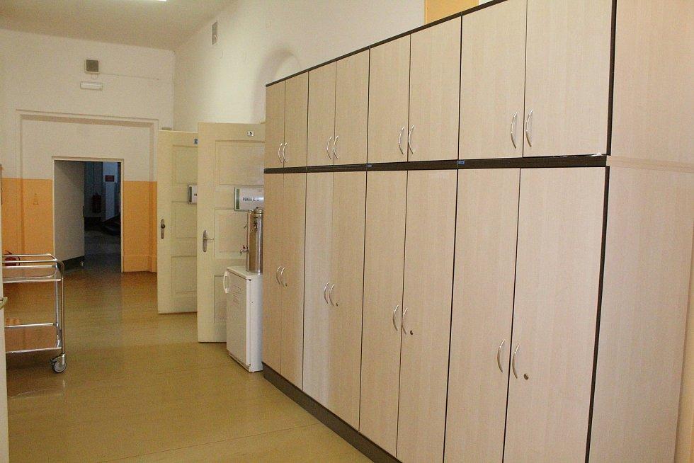 Opravy v rumburské nemocnici.