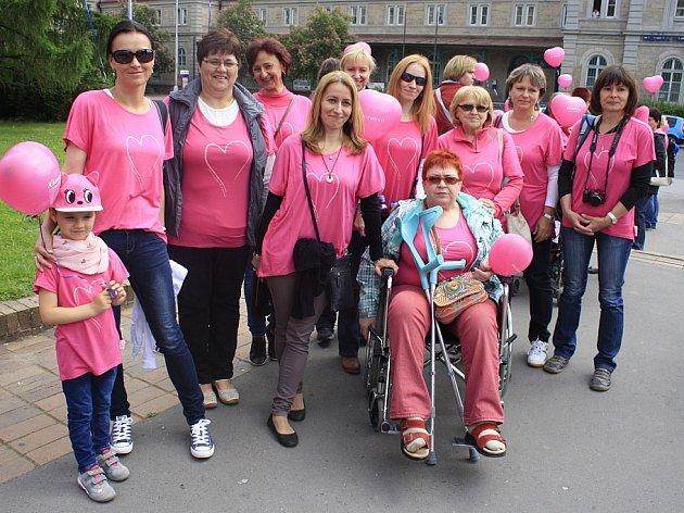 AVON pochod prošel přes Děčín v neděli 24. května.