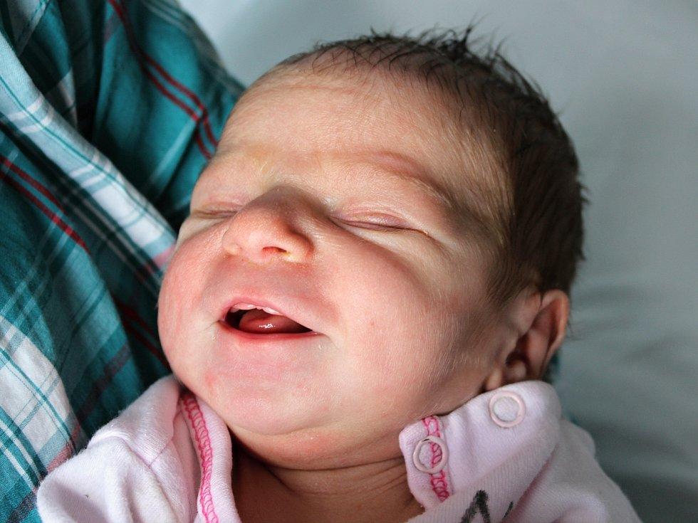 Eliška Králíková se narodila Petře Králíkové z Děčína 30. ledna ve 3.12 v děčínské porodnici. Vážila 2,82 kg.