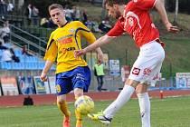 FK Varnsdorf - FK Pardubice - ilustrační foto.