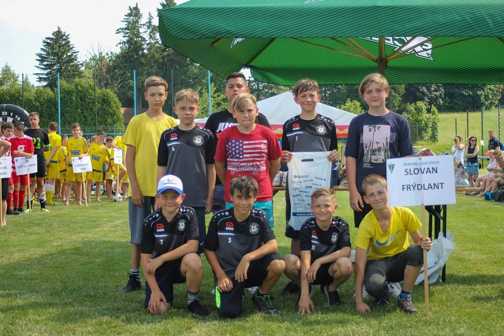 V pořadí již 19. ročník Memoriálu Josefa Kocka ovládl tým FK Ústí nad Labem A.