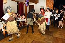 Maškarní ples v Dolní Poustevně.