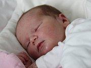 Antonie Luxová se narodila Martině a Tomáši Luxovým z Varnsdorfu 15. dubna v 15.04. Měřila 52 cm a vážila 3,90 kg.