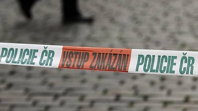 Policie - vstup zakázán. Ilustrační foto.
