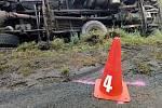 Dopravní nehoda na Bruntálsku.