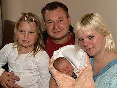 Miluši Severové z Rumburka se 7. října v 8.30 v rumburské porodnici narodila dcera Miluše Severová. Měřila 52 cm a vážila 3,83 kg.
