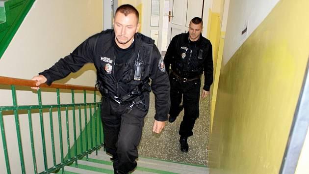 Děčínští strážníci. Ilustrační foto.