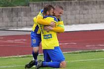 Fotbalisté Varnsdorfu doma porazili Vyškov 2:1.