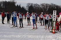 PRVNÍ AKCE. Na Polevsku proběhl první závod.