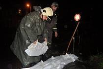V noci z 27. na 28. září 2010 měli ve Varnsdorfu plné ruce práce. Město opět zasáhla velká voda