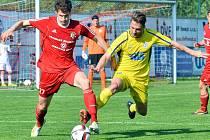 TŘI BODY si přivezl Varnsdorf z Třince, kde vyhrál 1:0.