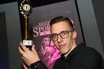 TOMÁŠ POMIKÁLEK. Děčínský basketbalista vyhrál hlavní kategorii tradiční ankety Deníku.