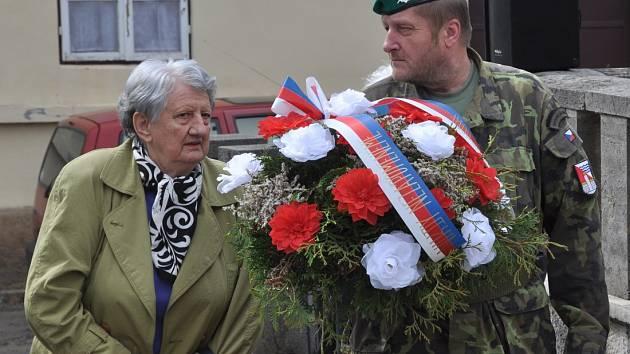 Varnsdorfští si připomněli konec druhé světové války.