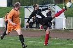 ČESKÁ KAMENICE (v oranžovém) vyhrála v Rumburku jasně 3:0!