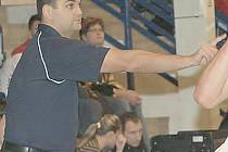 Trenér Pavel Budínský.