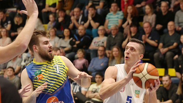Basketbalové derby Děčín - Ústí