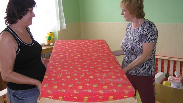 Nové postýlky v mateřské školce v Benešově nad Ploučnici