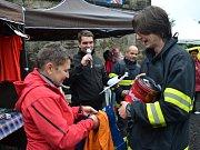 O srdce Kamenné dámy se utkali hasiči v sobotu na Sněžníku.