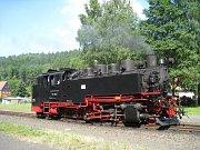 Parní vlak Žitava - Oybin.