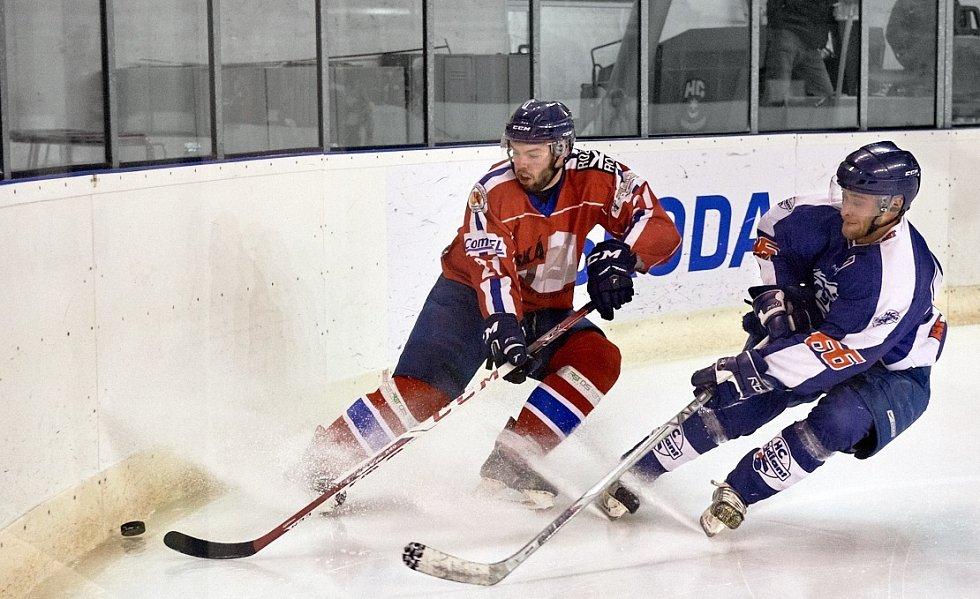 Varnsdorfský hokejista Petr Bali Šoltés.