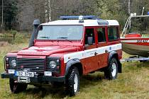 LAND ROVER, chlouba rumburských dobrovolných hasičů.