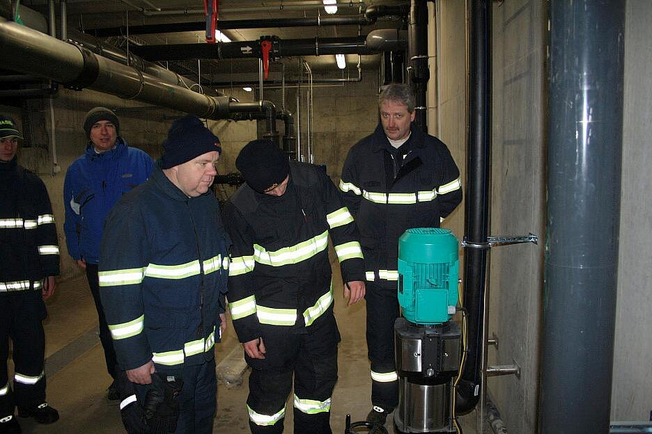 Předání nové hasičské stříkačky