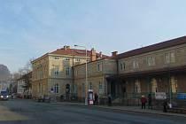Děčín - hlavní nádraží. Ilustrační foto.