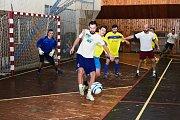 VE VILÉMOVSKÉ sportovní hale proběhl tradiční fotbalový memoriál.
