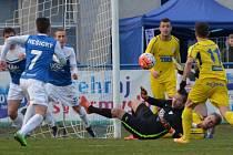 PŘIVEZLI SI BOD. Varnsdorf remizoval s Táborskem 0:0.