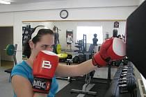 Chtěla jsem poznat, jaký asi trénink boxeři musejí absolvovat.